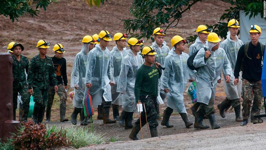 Thai cave rescue -sancharkarmi