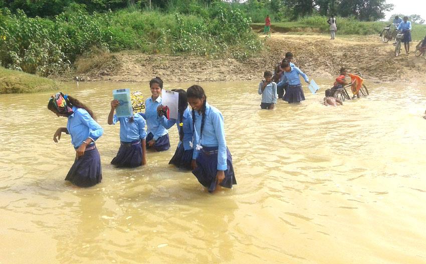 sancharkarmi<>floods nepa