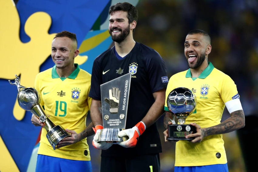 ब्राजिल नवौँ पटककोपा अमेरिका कपच्याम्पियन, पेरु ३-१ ले स्तब्ध